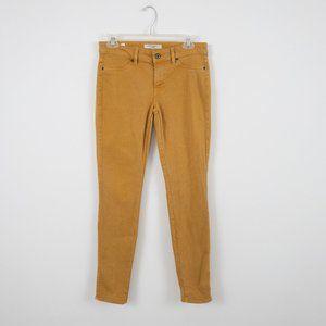 Rich & Skinny 27 Skinny Jeans Mustard Yellow Gold